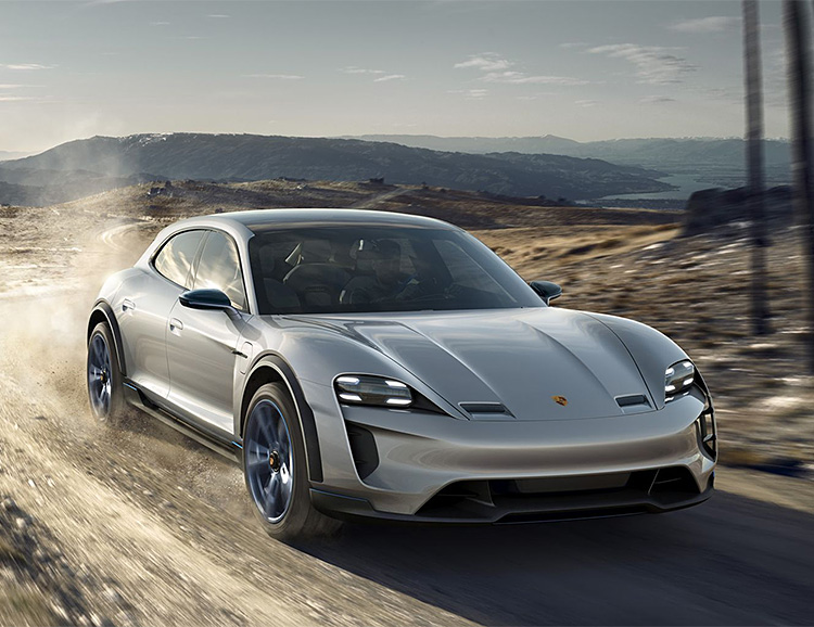 Porsche Rolls Out the Mission E Cross Turismo at werd.com