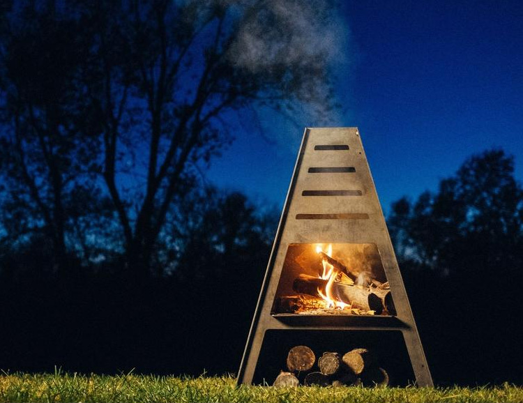 The Pyro Tower is Designed to Deliver the Ultimate Backyard Blaze at werd.com