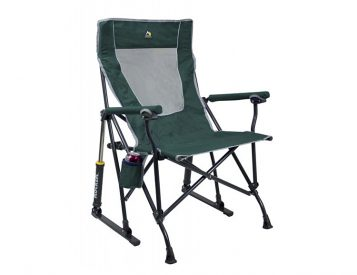 This Camp Chair Really Rocks