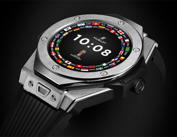 Hublot Has a Limited Edition Smart Watch for Serious Soccer Fans