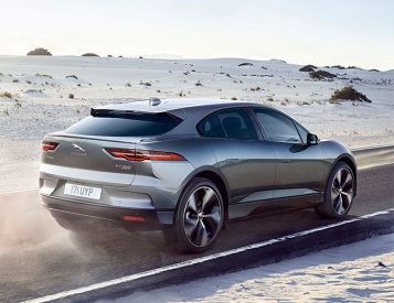 Jaguar Introduces I-PACE Electric Crossover with 240-Mile Range