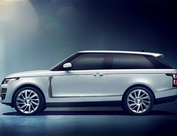 The Latest From Range Rover is the SV Coupe, an All-New 2-Door SUV