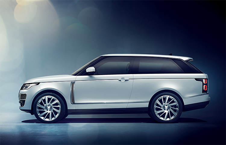 The Latest From Range Rover is the SV Coupe, an All-New 2-Door SUV at werd.com