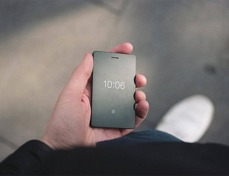 Light Phone 2 Lets You Travel Light But Keep Connected at werd.com