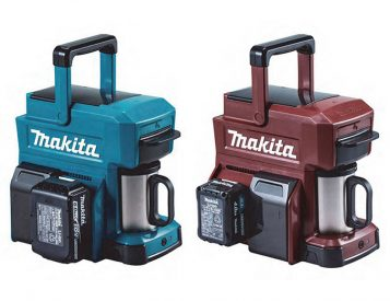 Makita Introduces a Cordless Coffee Maker