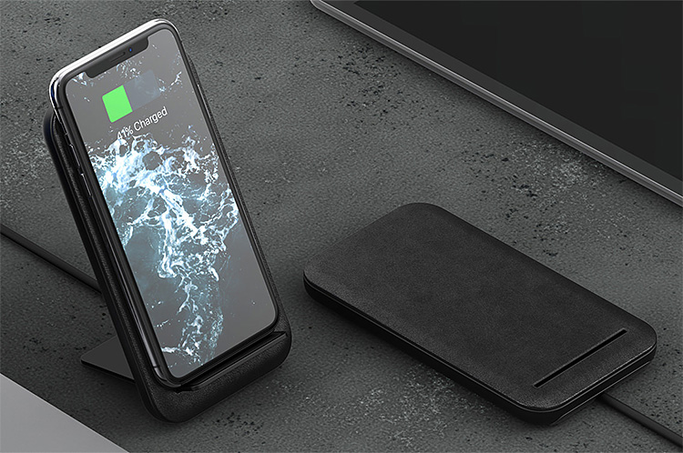 Take Wireless Charging On The Road With This Stand from Nomad at werd.com