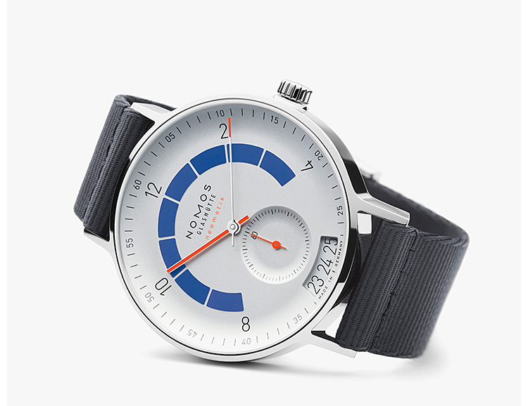 German Watchmaker NOMOS Introduces the Autobahn Neomatik Caliber at werd.com