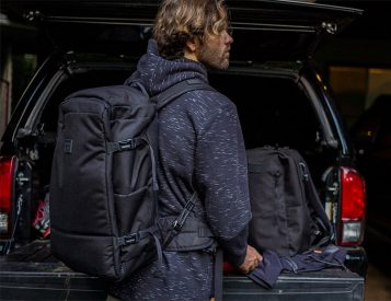 Quiksilver & PacSafe Collaborate On a Pair Of Theft-Proof Packs