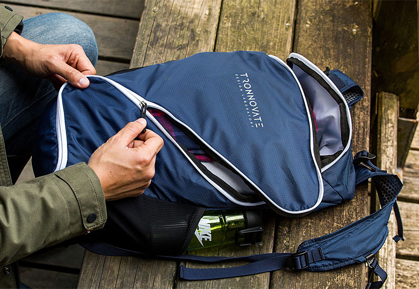 The Tronnovate Swift Daypack Opens Up Like No Other at werd.com