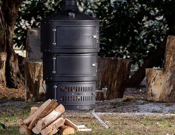 The Aquaforno II is the Most Versatile Outdoor Stove We've Ever Seen