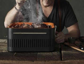 This Chef-Designed Portable Grill is Made for Summer Outings