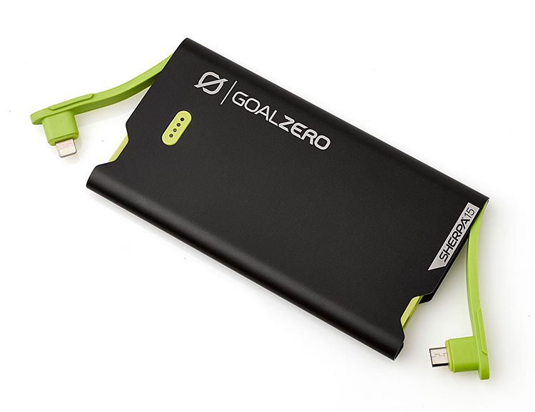 Stay Juiced with GoalZero's Sherpa 15 Power Bank at werd.com