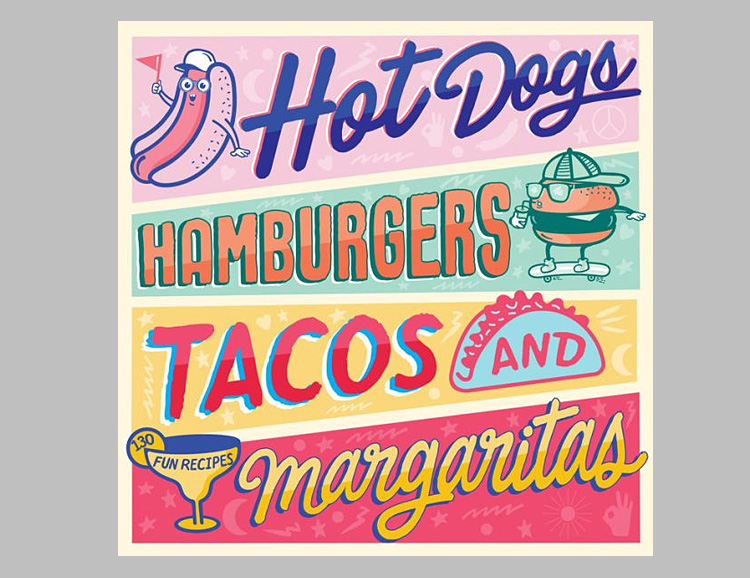 Hot Dogs, Hamburgers, Tacos, & Margaritas: a Cookbook Of Summer Hits at werd.com