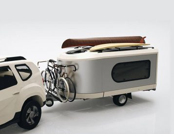 The Tipoon Camper is Modular & Modern