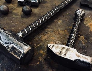 Wicked Workout: Swinging a Sledgehammer