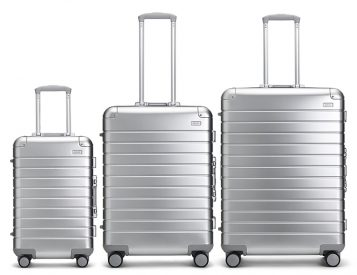 Away Launches Aluminum Edition Luggage Collection