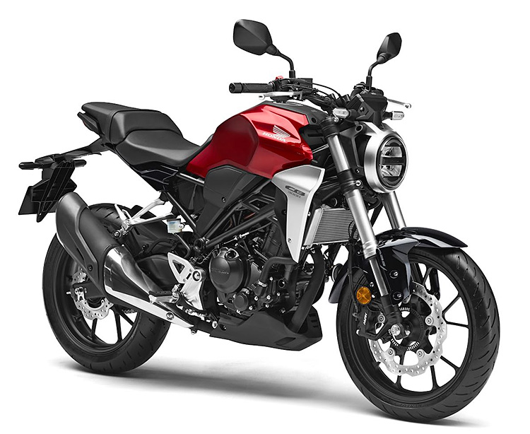 Honda's Café-Inspired CB300R is Coming To The States at werd.com