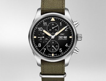 IWC Introduces Mark XI-Inspired Pilot's Chrono