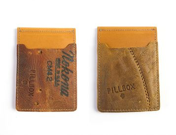 Pillbox Hits a Homer with Their Baseball Glove Wallet