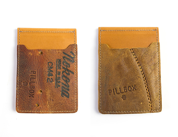 Pillbox Hits a Homer with Their Baseball Glove Wallet at werd.com