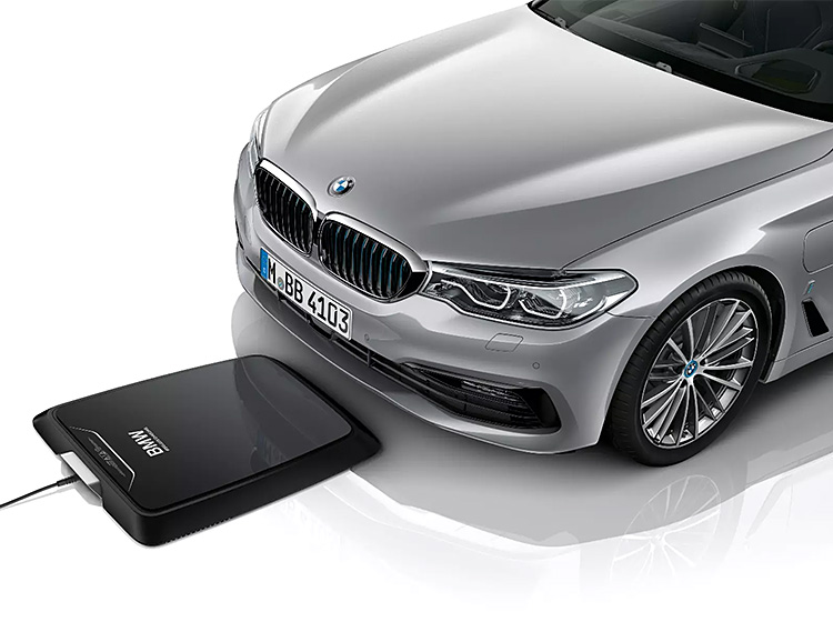 BMW Unveils Wireless Charging System For Its Hybrids at werd.com