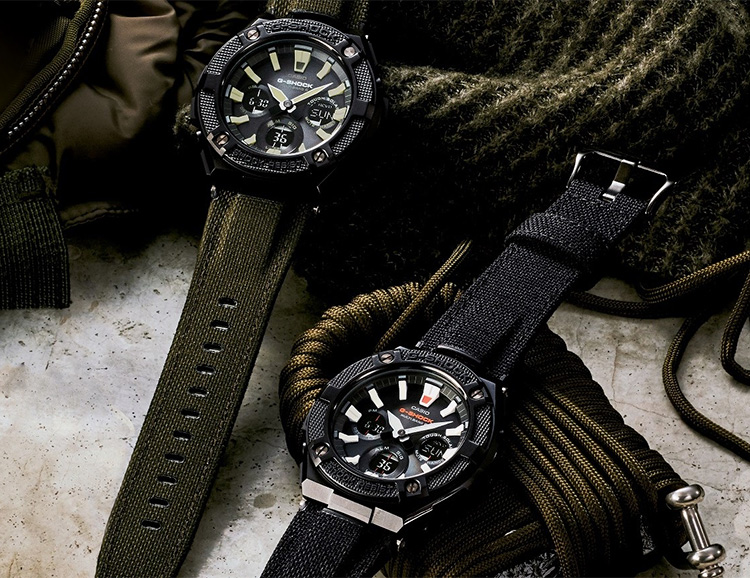 Built For Adventure: Casio's G-Steel Street Utility Collection at werd.com
