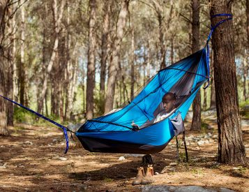 The Koala is a Hammock & Camp Chair In One
