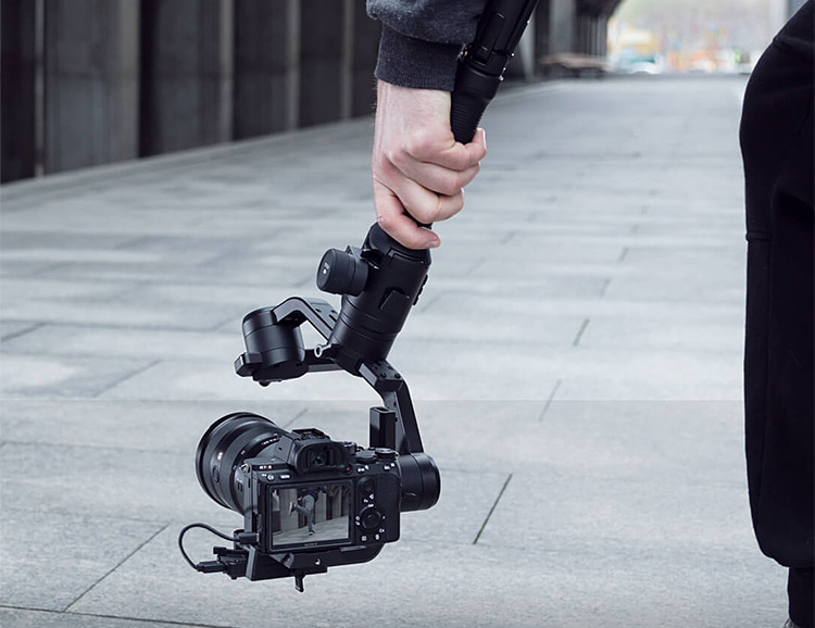 DJI's Ronin-S is the One-Handed Stabilizer for your DSLR at werd.com