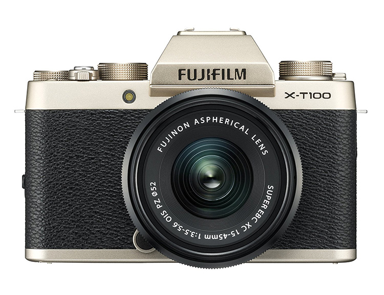 Fujifilm's X-T100: A Modern Mirrorless with Classic Style at werd.com