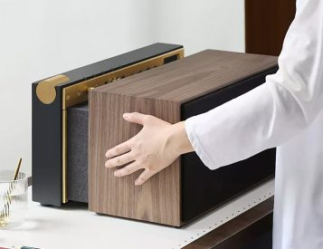 This Tabletop Speaker Has Some Sweet Stealth Functions
