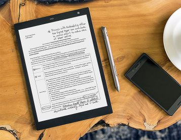 Sony Downsizes & Upgrades Its Digital Paper Reader in the DPT-CP1