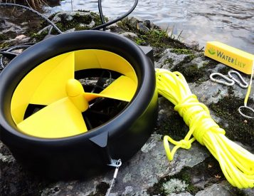 The Waterlily Turbine Charges Your Phone with Wind or Water