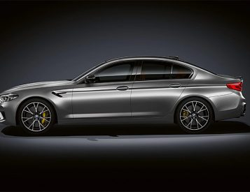 BMW Unveils Revved-Up M5 Competition Model