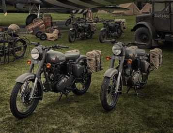 Royal Enfield Rolls Out the Limited Edition, Military-Inspired RE Classic 500 Pegasus