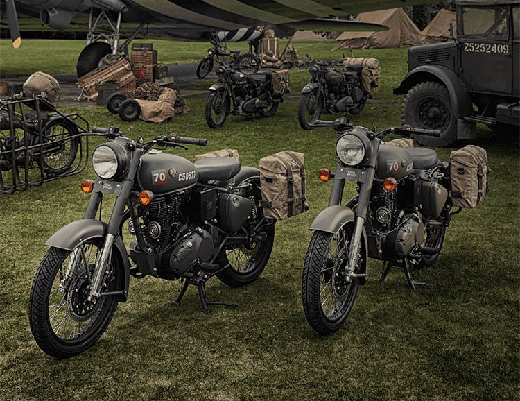 Royal Enfield Rolls Out the Limited Edition, Military-Inspired RE Classic 500 Pegasus at werd.com
