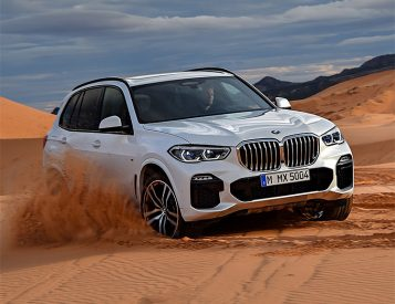 BMW Unveils Re-Designed X5 SUV for 2019
