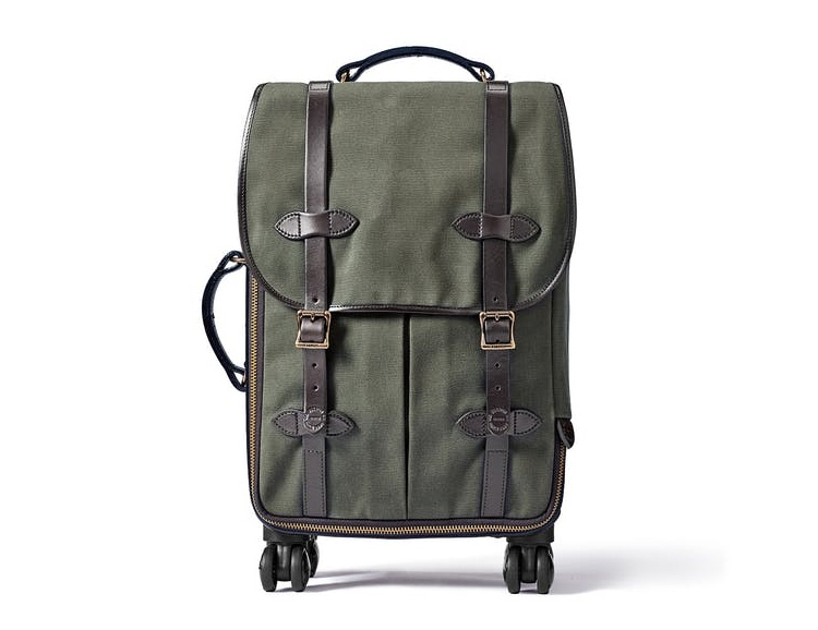 Filson's Rolling 4-Wheel Carry-On is Ready for Takeoff at werd.com