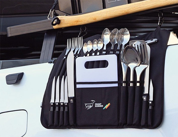 Front Runner's Camp Kitchen Utensil Set Has Everything You Need to Feed the Troops at werd.com