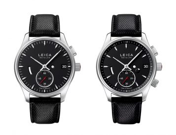 Leica Introduces L1 & L2 Watches
