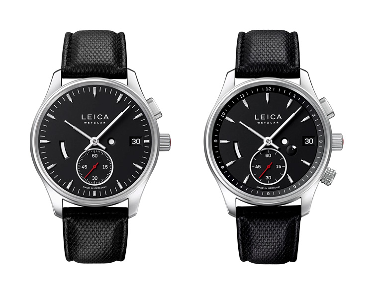 Leica Introduces L1 & L2 Watches at werd.com