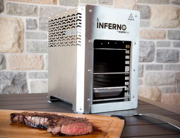 The Inferno Infrared Grill is Hot As Hell