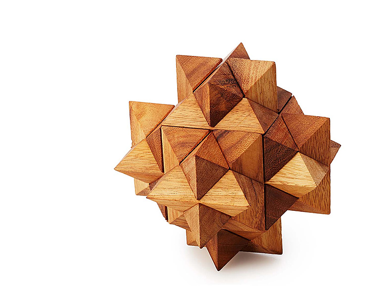 This Wooden Puzzle is Tough On Your Brain but Easy On the Environment at werd.com