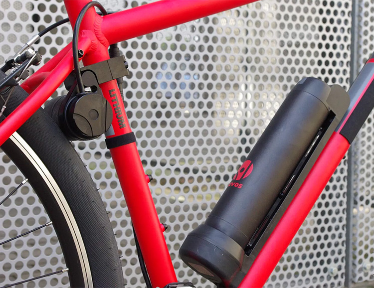 Convert Any Bike Into An E-Bike with the Tool-Free Revos Kit at werd.com