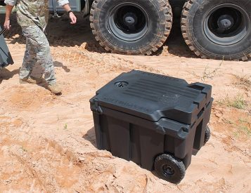 Speedbox is a Military-Grade, Stackable Cooler