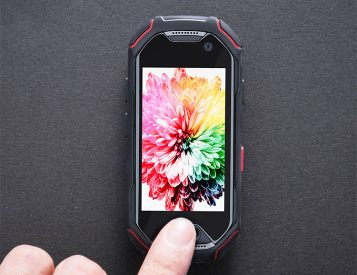 This Mini Smart Phone is Tough & It Shoots Underwater
