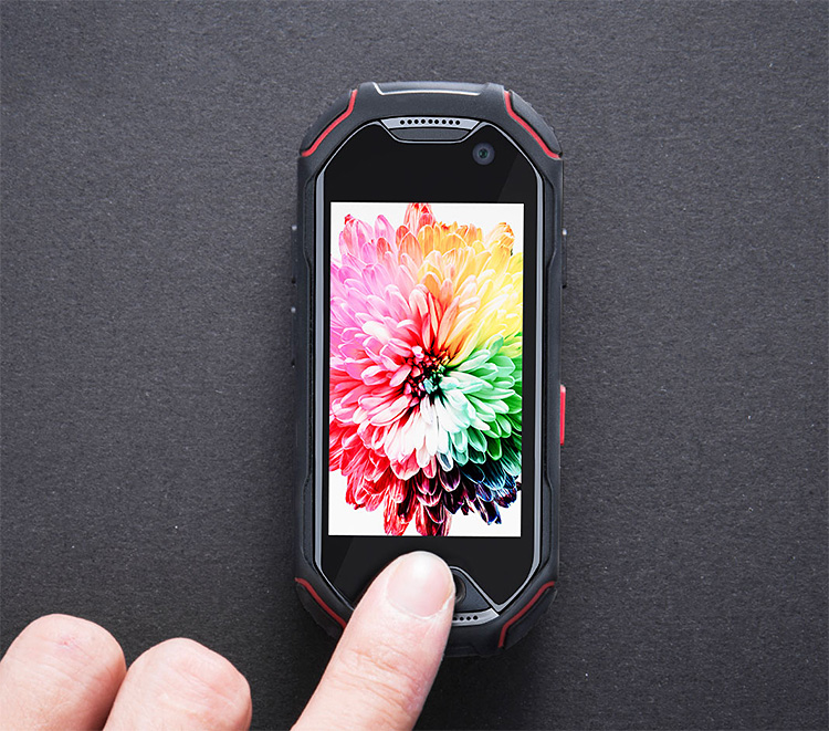 This Mini Smart Phone is Tough & It Shoots Underwater at werd.com