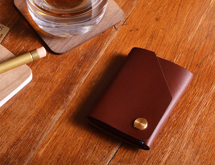Wingback Wallets Are Handmade & Built For Life at werd.com