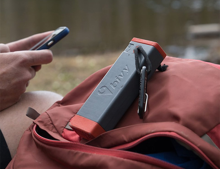 Bivystick Makes Off-Grid Communication a Snap at werd.com
