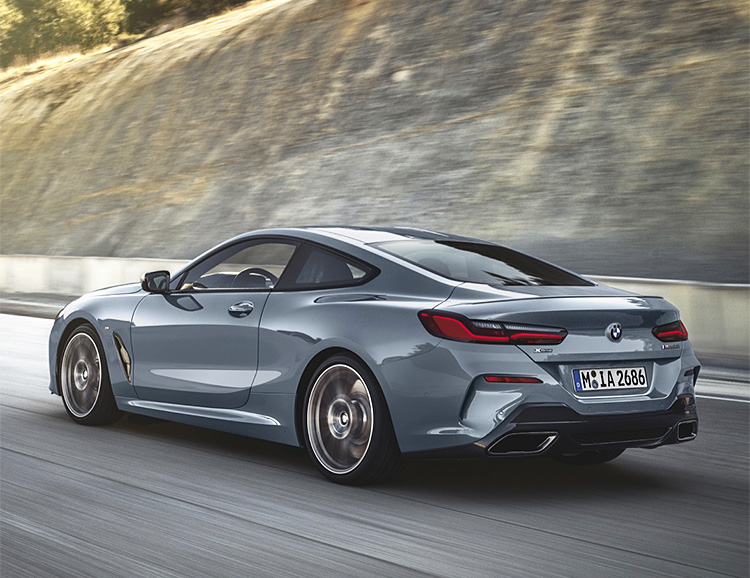 BMW Announces M850i xDrive Sedan for 2019 at werd.com