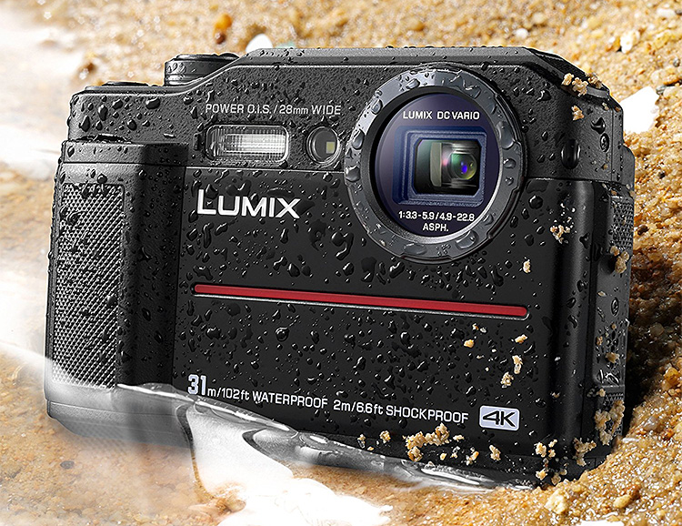 Go Deep with the Lumix TS7 Waterproof Tough Camera at werd.com